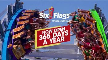 Six Flags Magic Mountain TV Spot, 'Open Everyday: Go Big' - Thumbnail 1
