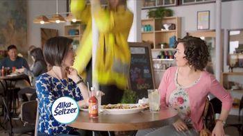 Alka-Seltzer Heartburn Relief Chews TV Spot, 'Fireman in the Cafe: Gummies'