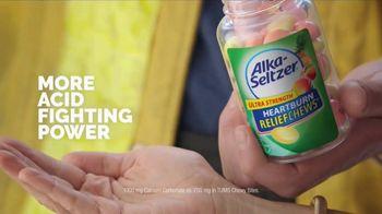 Alka-Seltzer Heartburn Relief Chews TV Spot, 'Fireman in the Cafe: Gummies' - Thumbnail 5