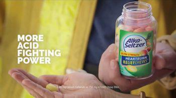 Alka-Seltzer Heartburn Relief Chews TV Spot, 'Fireman in the Cafe: Gummies' - Thumbnail 7