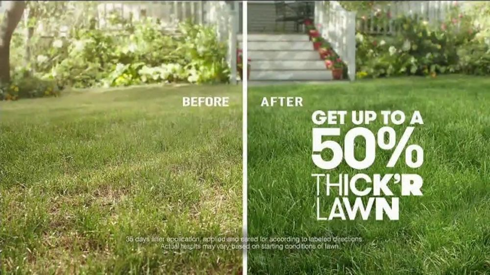 Scotts Thick'r Lawn TV Commercial, 'Thin Yard'
