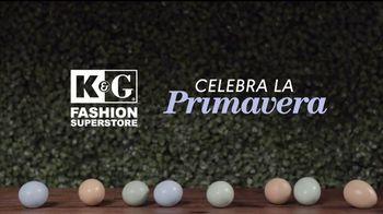 K&G Fashion Superstore TV Spot, 'Celebra la primavera' [Spanish] - Thumbnail 1