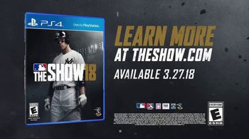 MLB The Show 18 TV Spot, 'Welcome to the Show' - Thumbnail 10