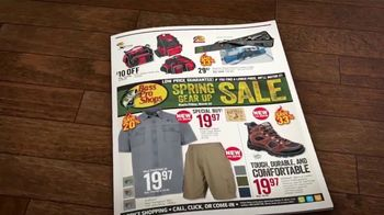 Bass Pro Shops Spring Gear Up Sale TV Spot, 'Redhead Shirts and Boots' - Thumbnail 3