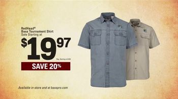 Bass Pro Shops Spring Gear Up Sale TV Spot, 'Redhead Shirts and Boots' - Thumbnail 4