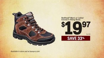 Bass Pro Shops Spring Gear Up Sale TV Spot, 'Redhead Shirts and Boots' - Thumbnail 5