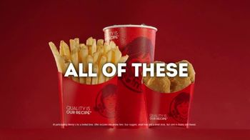 Wendy's 4 for $4 Meal TV Spot, 'The Struggle Is Real' - Thumbnail 8