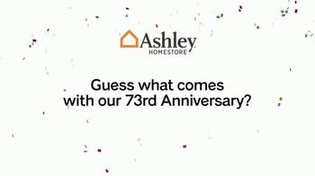 Ashley HomeStore 73rd Anniversary Instant Rebate Sale TV Spot, 'Reduced' - Thumbnail 1