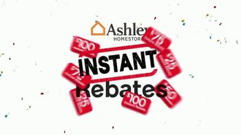 Ashley HomeStore 73rd Anniversary Instant Rebate Sale TV Spot, 'Reduced' - Thumbnail 2