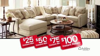 Ashley HomeStore 73rd Anniversary Instant Rebate Sale TV Spot, 'Reduced' - Thumbnail 4