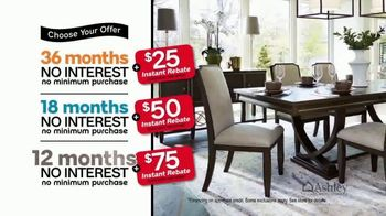 Ashley HomeStore 73rd Anniversary Instant Rebate Sale TV Spot, 'Reduced' - Thumbnail 6