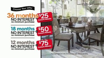 Ashley HomeStore 73rd Anniversary Instant Rebate Sale TV Spot, 'Reduced' - Thumbnail 7