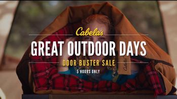 Cabela's Great Outdoor Days Sale TV Spot, 'Hikers and Turkey Vests' - Thumbnail 7