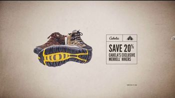 Cabela's Great Outdoor Days Sale TV Spot, 'Hikers and Turkey Vests' - Thumbnail 8