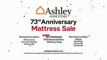 Ashley HomeStore 73rd Anniversary Mattress Sale TV Spot, 'Bonus Furniture' - Thumbnail 7