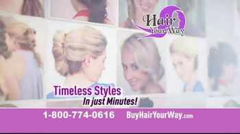 Hair Your Way TV Spot, 'Complete Styling Kit' - Thumbnail 9