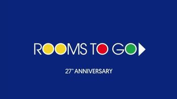 Rooms to Go Anniversary Sale TV Spot, 'Incredible Offers' - Thumbnail 1