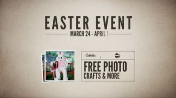 Cabela's Great Outdoor Days Sale TV Spot, 'Easter Bunny' - Thumbnail 8