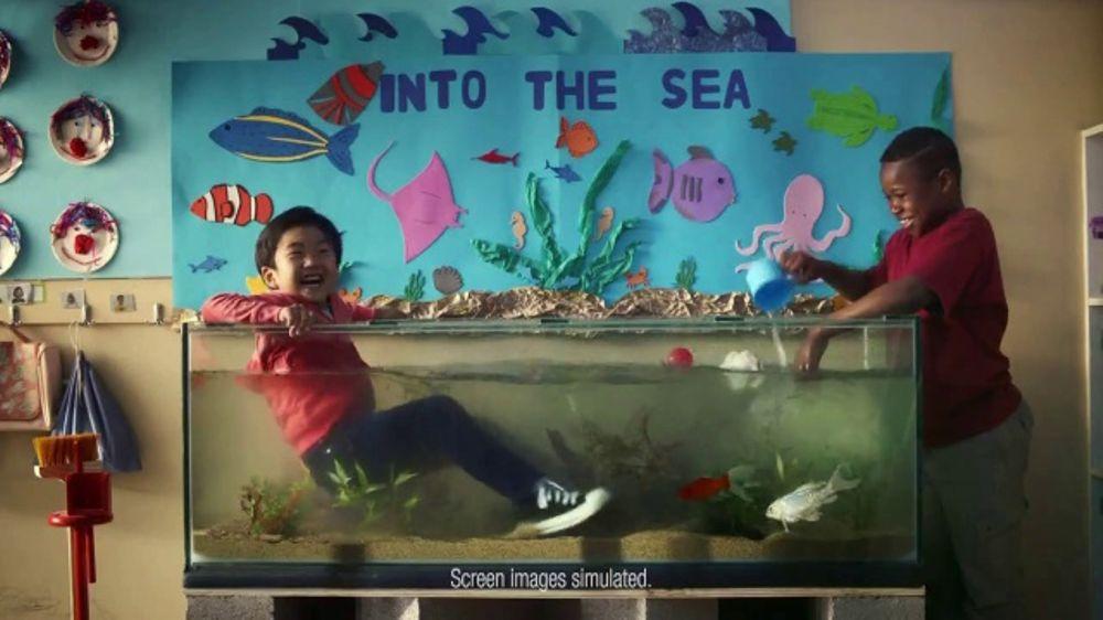 Kindergarten Teacher Booking Travel Ad