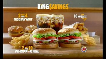Burger King Savings Menu TV Spot, 'Time Out' Featuring Tracy McGrady - Thumbnail 8