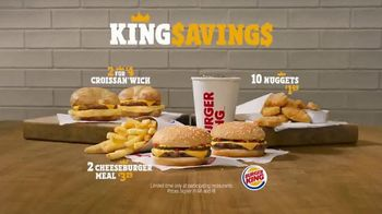 Burger King King Savings Menu TV Spot, 'Deal Time All the Time' - Thumbnail 7