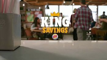 Burger King King Savings Menu TV Spot, 'Deal Time All the Time' - Thumbnail 2