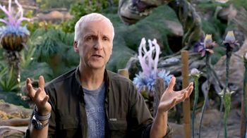Walt Disney World TV Spot, 'Pandora: Familiar & Amazing' Ft. James Cameron