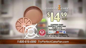 Copper Chef Perfect Cake Pan TV Spot, 'Add Some Sizzle' - Thumbnail 9