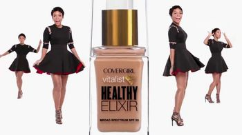 CoverGirl Vitalist Healthy Elixir TV Spot, 'Healthy Skin' Ft. Janelle Monae