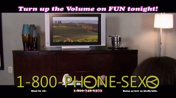 1-800-PHONE-SEXY TV Spot, 'Fantasies Come True'