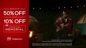 Hotels.com Memorial Day Sale TV Spot, 'Selfie' - Thumbnail 7