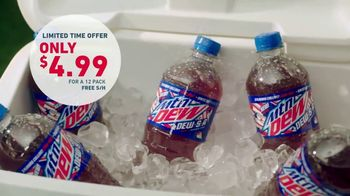 Mountain DEW-S-A TV Spot, 'Most Patriotic Drink Ever' Ft Dale Earnhardt Jr. - Thumbnail 3