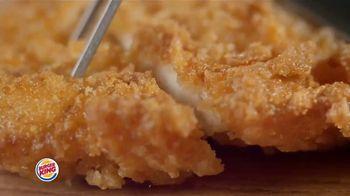 Burger King Chicken Sandwiches TV Spot, 'Something Extra' - Thumbnail 1