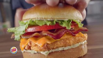 Burger King Chicken Sandwiches TV Spot, 'Something Extra' - Thumbnail 5