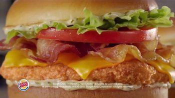 Burger King Chicken Sandwiches TV Spot, 'Something Extra' - Thumbnail 7