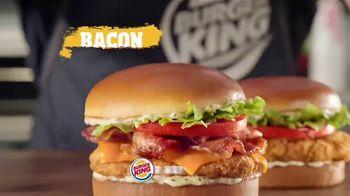 Burger King Chicken Sandwiches TV Spot, 'Something Extra' - Thumbnail 8