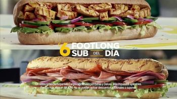 Subway $6 Footlong Sub del Dia TV Spot, 'Festejar' [Spanish] - Thumbnail 5