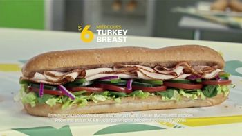 Subway $6 Footlong Sub del Dia TV Spot, 'Festejar' [Spanish] - Thumbnail 6