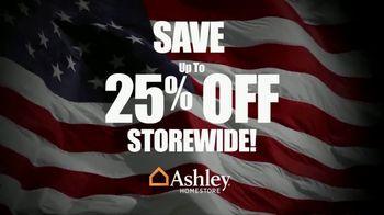 Ashley HomeStore Memorial Day Sale TV Spot, 'Sofas and Bar Stools' - Thumbnail 1