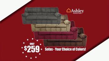 Ashley HomeStore Memorial Day Sale TV Spot, 'Sofas and Bar Stools' - Thumbnail 3