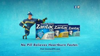Zantac 150 Maximum Strength Cool Mint Tablets TV Spot, 'Fire Engine' - Thumbnail 10