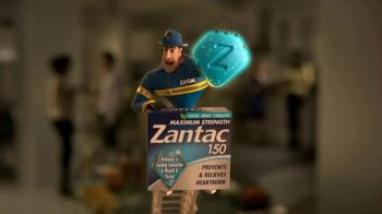 Zantac 150 Maximum Strength Cool Mint Tablets TV Spot, 'Fire Engine' - Thumbnail 4