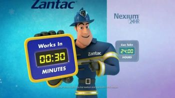 Zantac 150 Maximum Strength Cool Mint Tablets TV Spot, 'Fire Engine' - Thumbnail 7