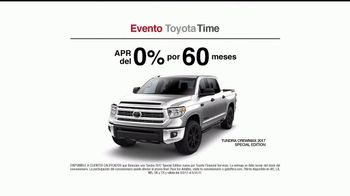 Evento Toyota Time TV Spot, '2017 Tundra CrewMax Special Edition' [Spanish] [T2] - Thumbnail 5
