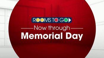 Rooms to Go TV Spot, 'Memorial Day: Five-Piece Bedroom' - Thumbnail 1