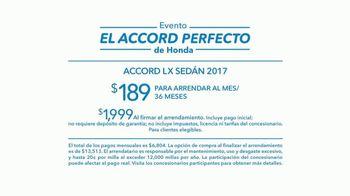 Evento el Accord Perfecto de Honda TV Spot, '2017 Accord' [Spanish] [T2] - Thumbnail 5
