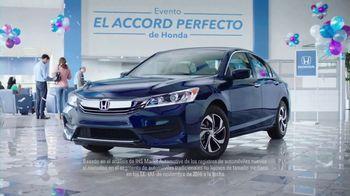 Evento el Accord Perfecto de Honda TV Spot, '2017 Accord' [Spanish] [T2] - Thumbnail 4