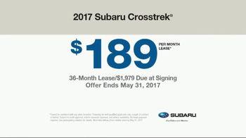 2017 Subaru Crosstrek TV Spot, 'Adventurous' [T2] - Thumbnail 7