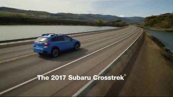 2017 Subaru Crosstrek TV Spot, 'Adventurous' [T2] - Thumbnail 1