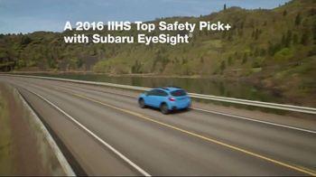 2017 Subaru Crosstrek TV Spot, 'Adventurous' [T2] - Thumbnail 4
